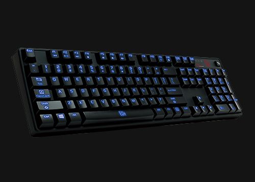 6ff945376c7 Tt eSPORTS Poseidon Z Blue Switch Mechanical Gaming Keyboard ...