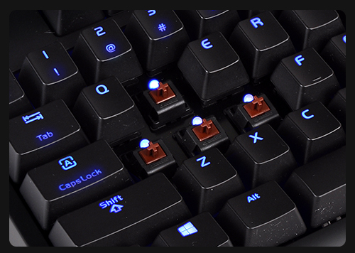 how to make blue switches quieter