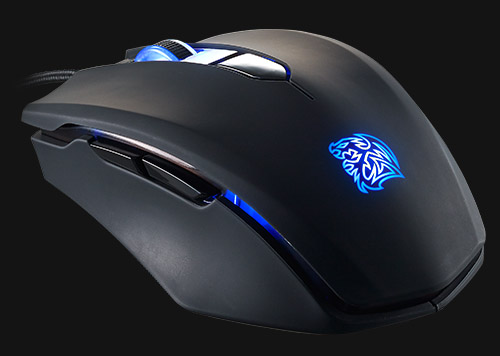 95c3f33eea0 Thermaltake eSPORTS Talon Blue USB Optical Gaming Mouse by ...