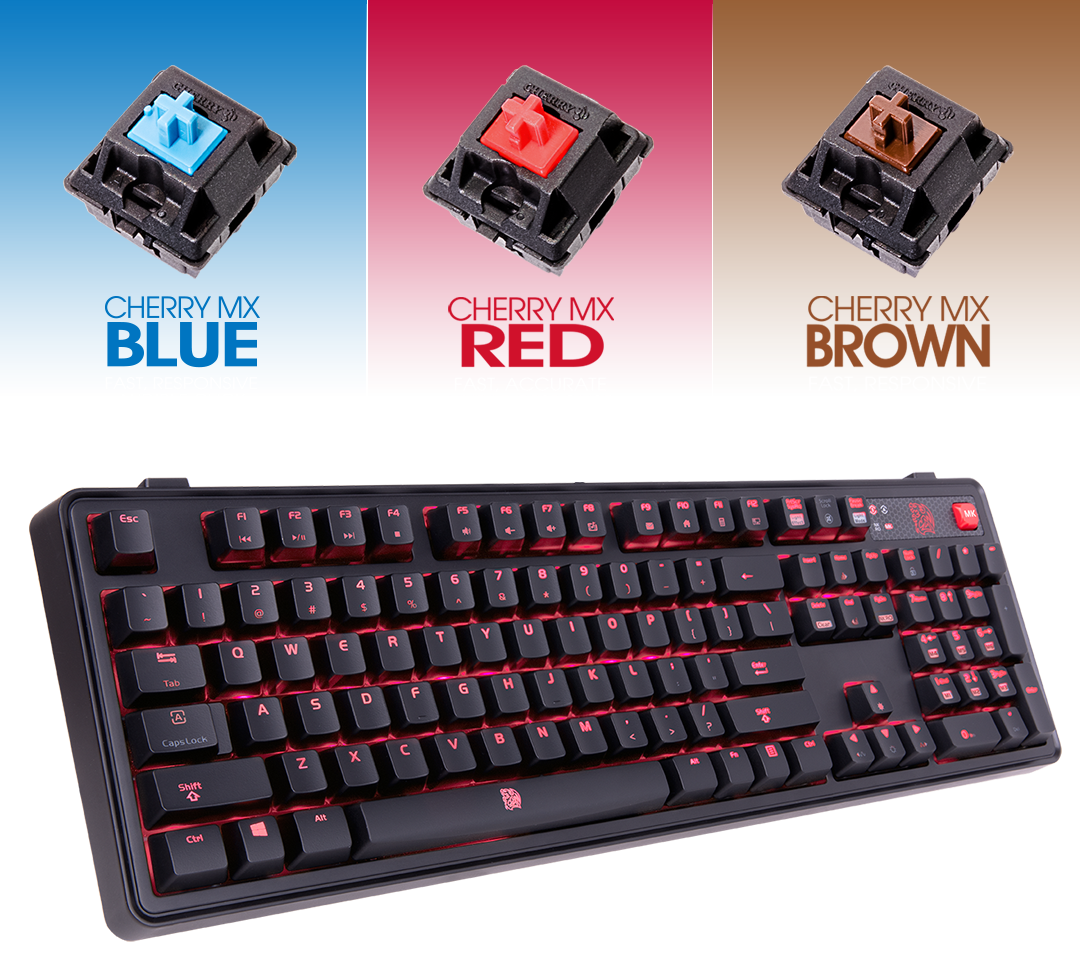 Which Switch Is Which Your Guide To Mechanical Keyboards