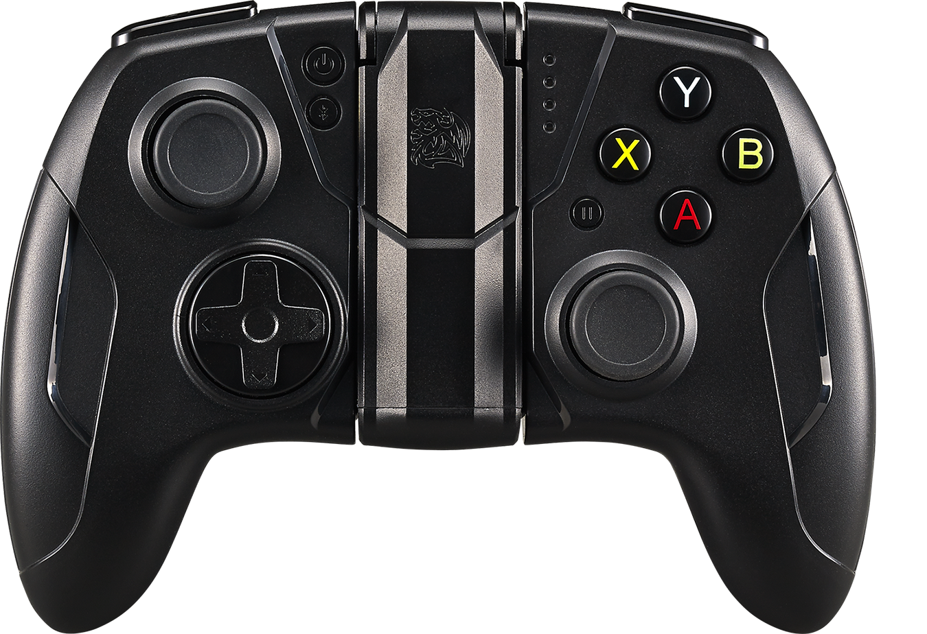 Tt Esports Thermaltake Contour Mobile Gaming Black Apple Mfi Joystick Double Game Pad Transparant Wellcome Watch And Feel The Experience